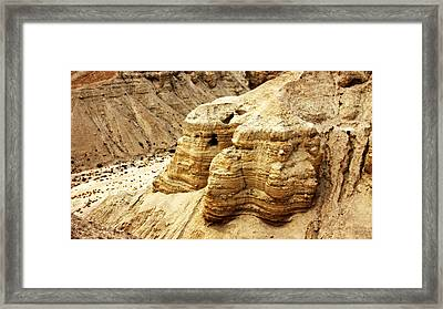 Qumran Cave 4 Framed Print by Stephen Stookey