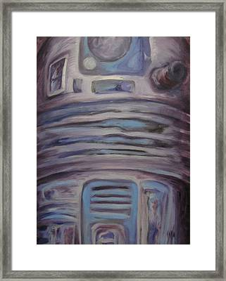 R2 Abstract Framed Print by Howard Perry
