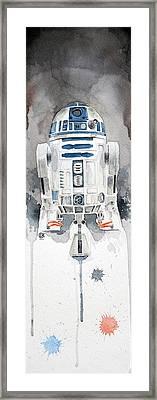 R2 Framed Print by David Kraig