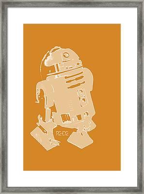 R2d2 Framed Print by Toppart Sweden