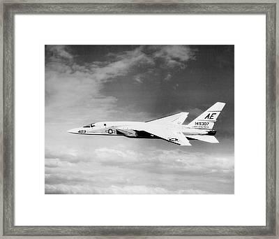 Ra-5c Vigilante In Flight, Circa 1966 Framed Print by Stocktrek Images