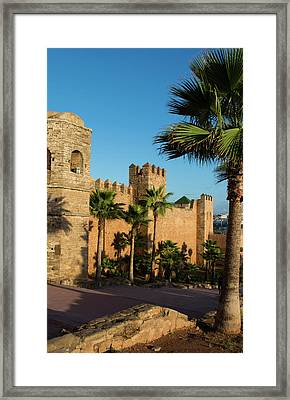 Rabat Morocco Beautiful Kasbah Udaya Framed Print by Bill Bachmann