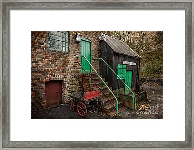 Racecourse Colliery  Framed Print by Adrian Evans