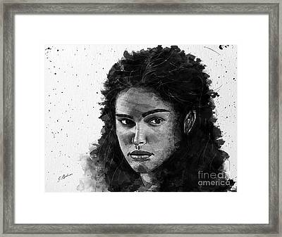 Rachel In Waiting Framed Print by Gary Bodnar