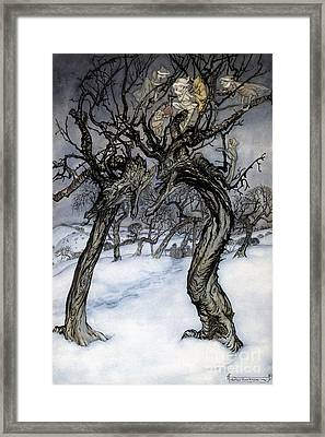 Rackham: Whisper Trees Framed Print by Granger