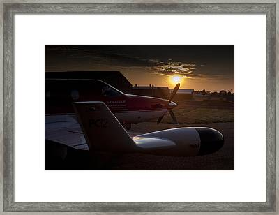 Radar Wing Framed Print by Paul Job
