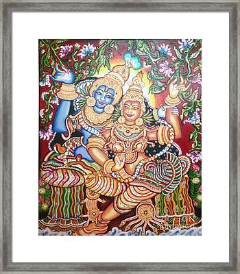 Radheshyam Framed Print by Jayashree