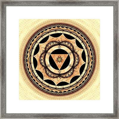 Radiant Affection Framed Print by Anastasiya Malakhova