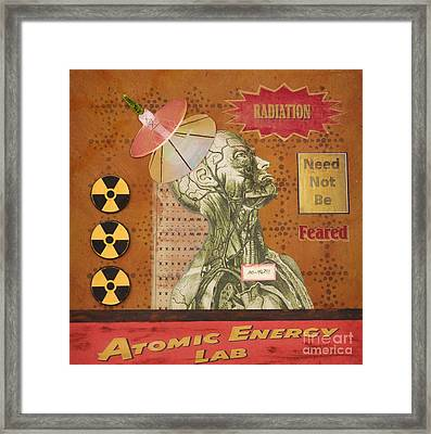 Radiation Need Not Be Feared Framed Print by Desiree Paquette