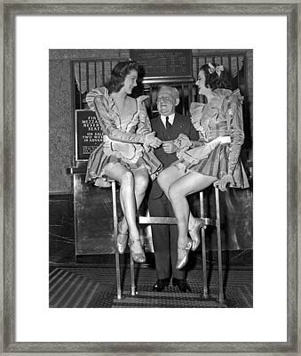 Radio City Rockettes Framed Print by Underwood Archives