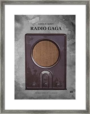 Radio Gaga Framed Print by Stefan Kuhn