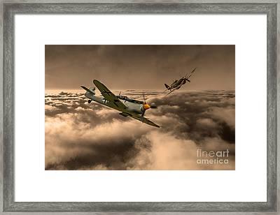 Raf And Luftwaffe Framed Print by J Biggadike