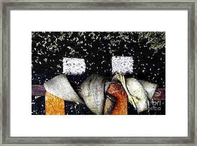 Raggedy Ann And Andy Framed Print by Marlene Burns