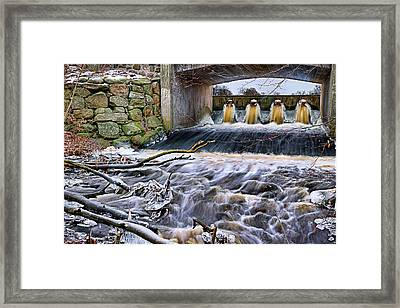 Raging River Framed Print by EXparte SE