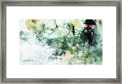 Ragtime Abstract  Art  Framed Print by Ann Powell