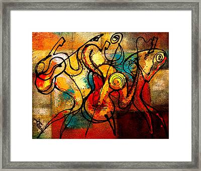 Ragtime Framed Print by Leon Zernitsky