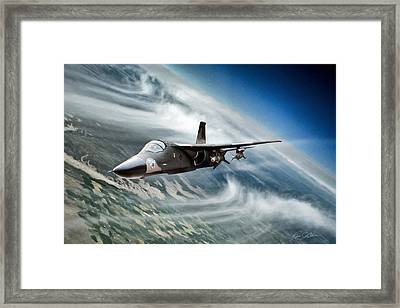 Raider Lead Framed Print by Peter Chilelli