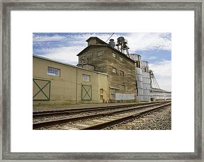 Railway Mill Framed Print by Sonya Lang