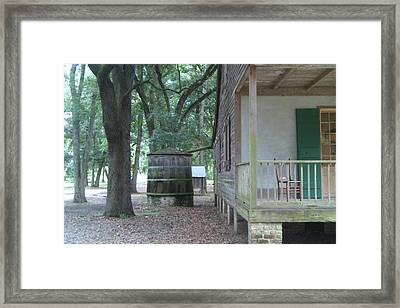 Rain Catcher Framed Print by Jennifer Lavigne