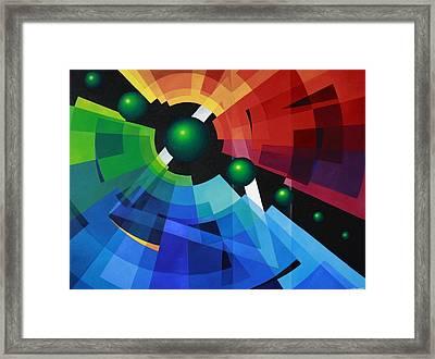 Rainbow Framed Print by Alberto D-Assumpcao