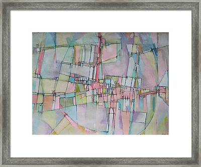 Rainbow Avenue Framed Print by Hari Thomas