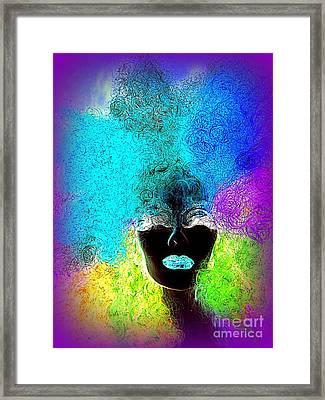 Rainbow Beauty Framed Print by Ed Weidman