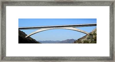 Rainbow Bridge Framed Print by Gregory Dyer