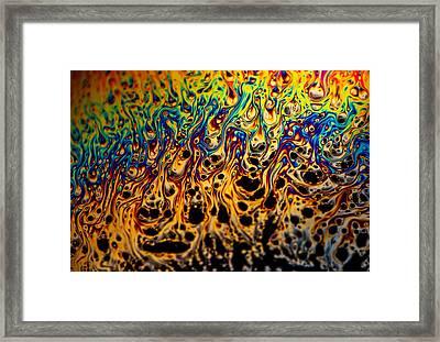 Rainbow Distortion 1 Framed Print by Matt Molloy