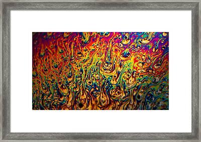 Rainbow Distortion 2 Framed Print by Matt Molloy