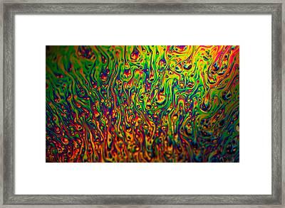 Rainbow Distortion 3 Framed Print by Matt Molloy