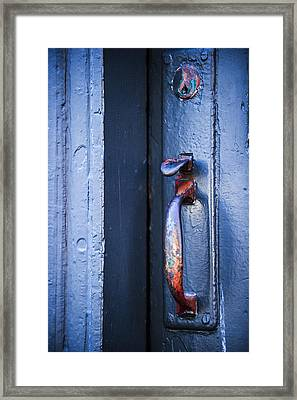 Rainbow Entry Framed Print by Sydney Mercer
