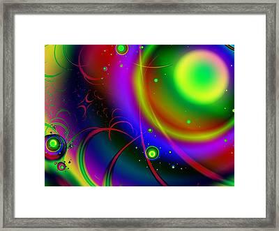 Rainbow Halo Framed Print by Anastasiya Malakhova