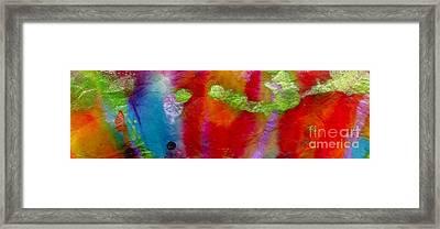 Rainbow Passion Framed Print by Angela L Walker