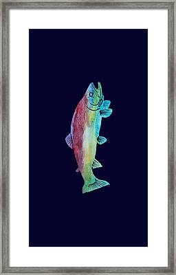 Rainbow Trout Framed Print by Jenny Armitage