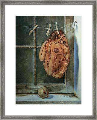 Rained Out Framed Print by William Albanese Sr