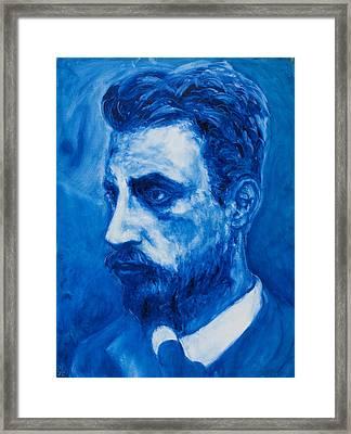 Rainer Maria Rilke Framed Print by Sviatoslav Alexakhin
