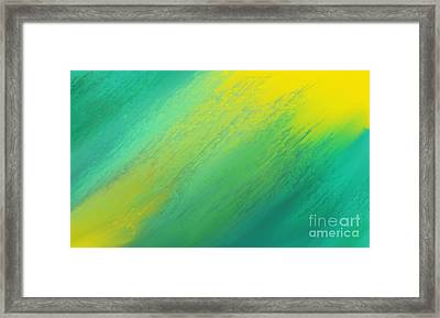 Raining Sunshine - Meteorologist - Meteorology Framed Print by Andee Design