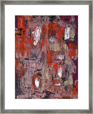 Rainy Afternoon Framed Print by Oscar Penalber