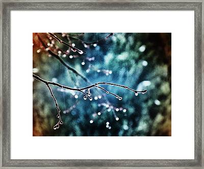 Rainy Day Framed Print by Marianna Mills