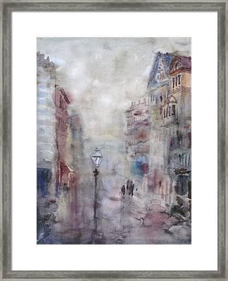Rainy Day Framed Print by Murat Kaboulov