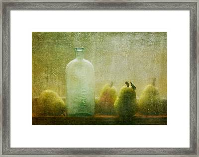 Rainy Days Framed Print by Amy Weiss