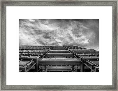 Raise The Bar Framed Print by CJ Schmit