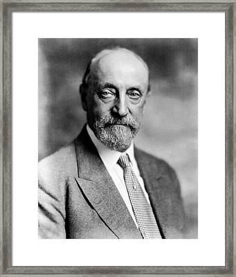 Ralph Modjeski Framed Print by Library Of Congress