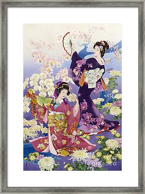 Ran Kiku Framed Print by Haruyo Morita