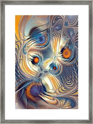 Random Thoughts Framed Print by Anastasiya Malakhova