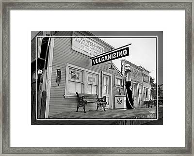 Randsburg 13 Framed Print by Cindy Nunn