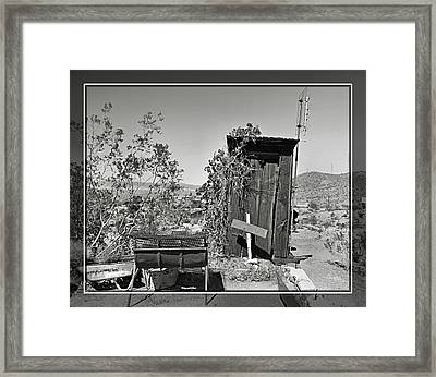 Randsburg 23 Framed Print by Cindy Nunn