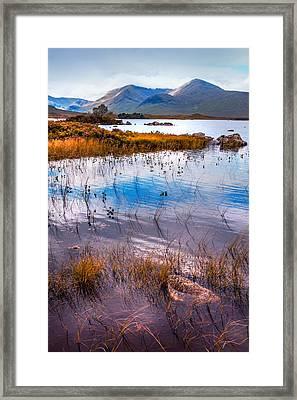 Rannoch Moor 1. Scotland Framed Print by Jenny Rainbow