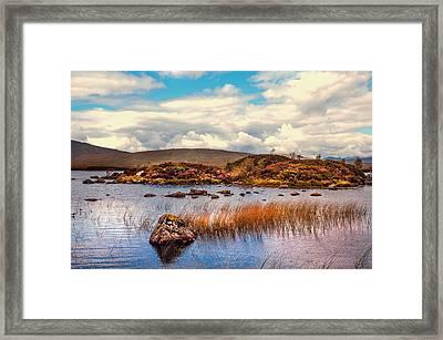 Rannoch Moor. Scotland Framed Print by Jenny Rainbow