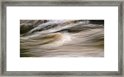 Rapids Framed Print by Marty Saccone